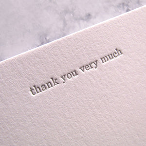 Hildy Thank You Stationery