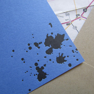 Ink Splatters Stationery (L)
