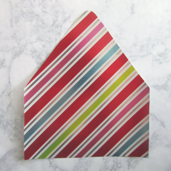 Striped Envelopes Liners