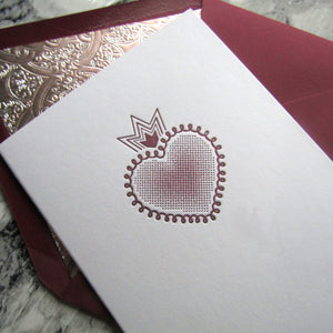 Milagro Heart Note Cards