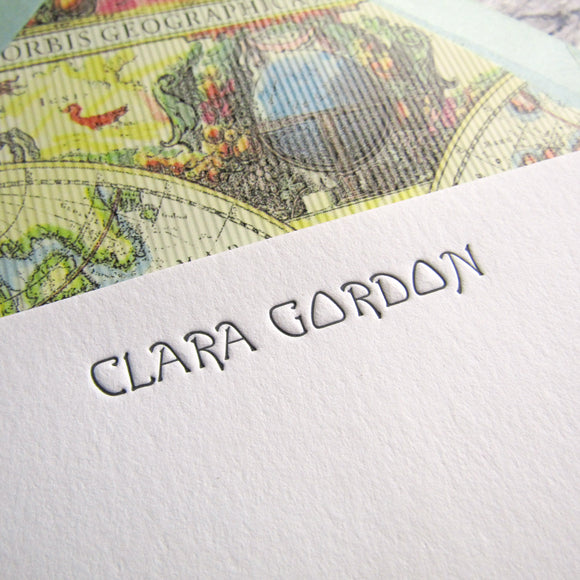 Clara Personalized Stationery (S)