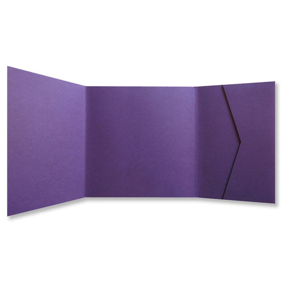Purple Square Pockets