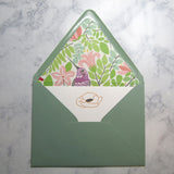 Poppy Flower Stationery {custom}