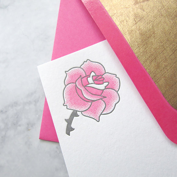 Rose Stationery (L)