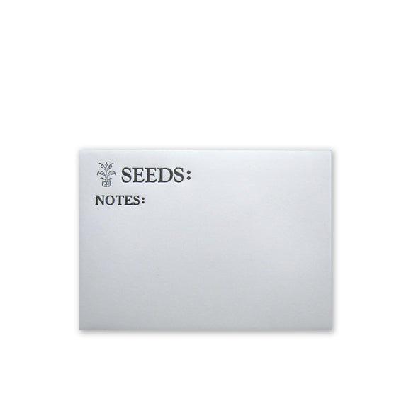 Seed Packet Envelopes {custom}