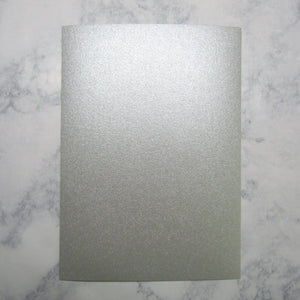 Silver Flat Cards