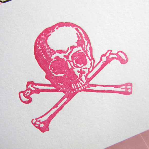 Large Skull Note Cards (S)