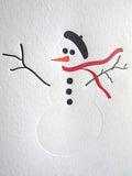 Dapper Snowman Card