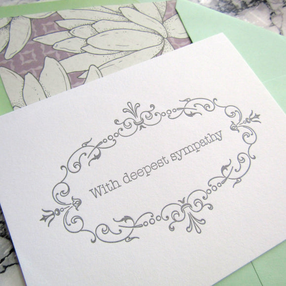 Deepest Sympathy Cards