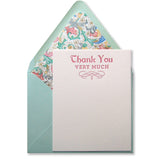 Claudette Thank You Stationery (M) {Last One!}