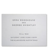 Tierney Wedding Invitations