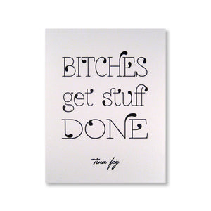 Tina Fey Quote Note Cards