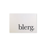 blerg Note Cards {custom}