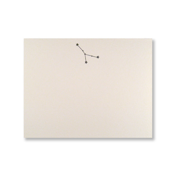 Cancer Constellation Cards {ecru}