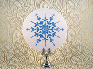 Snowflake Coasters {2 left!}