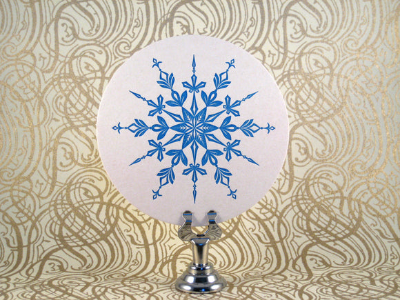 Snowflake Coasters {Last One!}