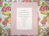 Roald Dahl quotation print, letterpress printed & designed by inviting | shopinviting in Austin Texas.
