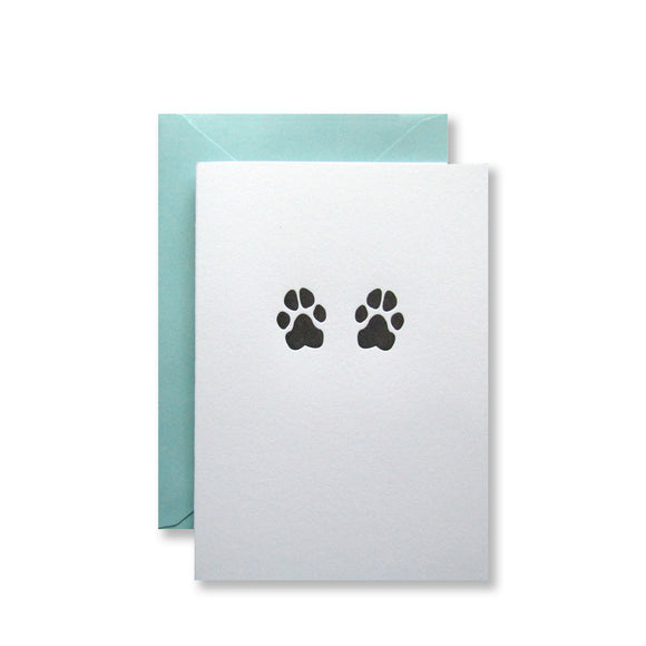 Dog Paw Prints Note Cards {Last One!}