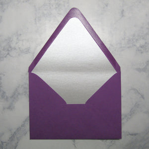 Silver Lined Envelopes