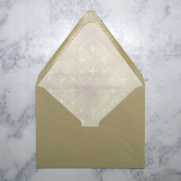 Circular Lined Envelopes
