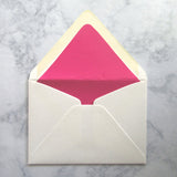 Pink Croc Liners & Lined Envelopes