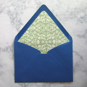 Green Regency Lined Envelopes