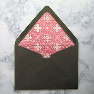 Rose Regency Lined Envelopes