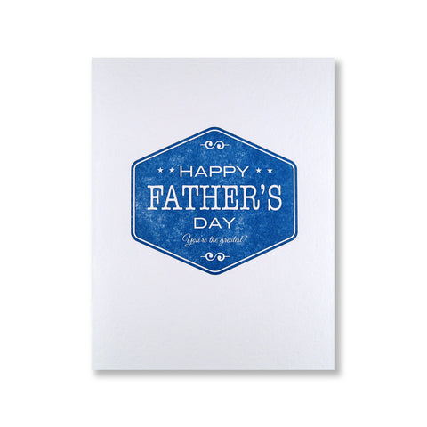 Father's Day Label
