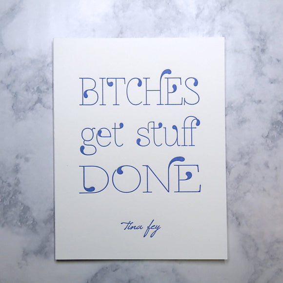 Tina Fey Quote Cards {Last One!}
