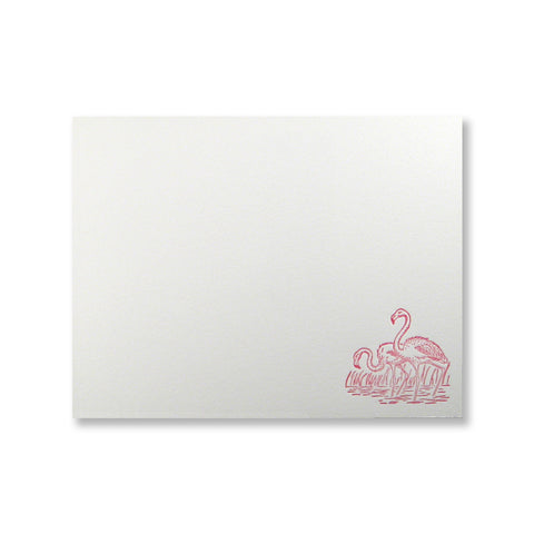 Flamingos Stationery {custom}