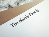 Hardy Personalized Stationery (S)