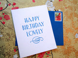 Happy Birthday Lovely Cards