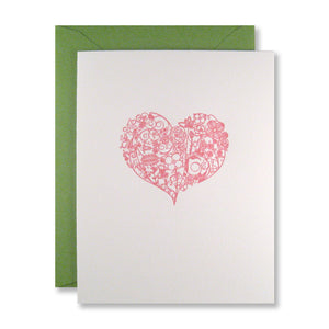 Ornate Heart Notes {Custom}