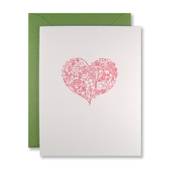 Ornate Heart Note