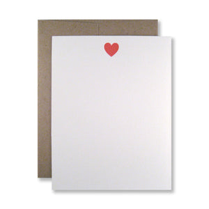 Heart Stationery {Custom}
