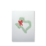 Texas Wreath Holiday Cards