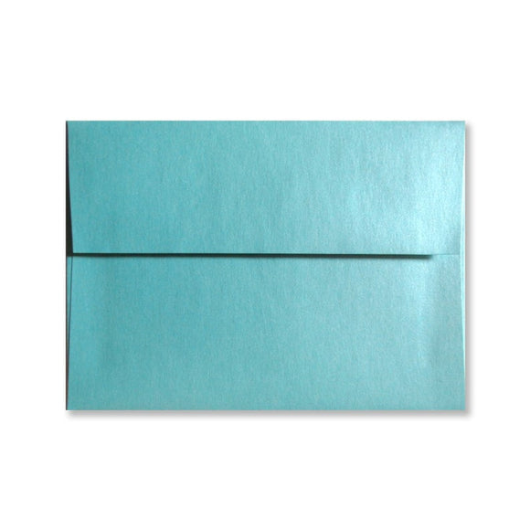Lagoon Blue Envelopes {Pearlized}