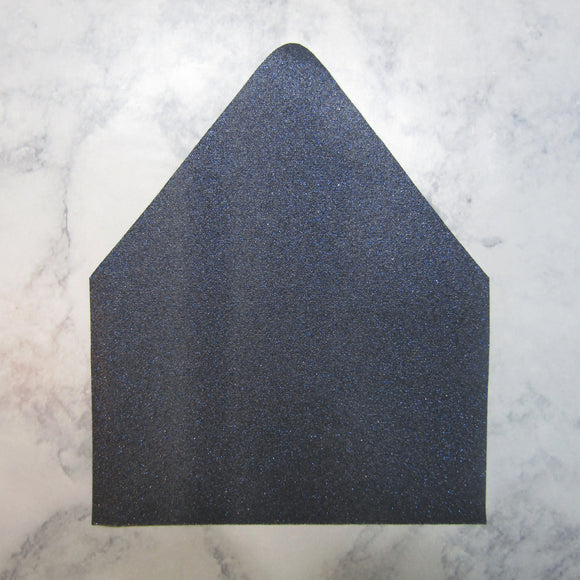 Denim Faux Glitter Envelopes Liners