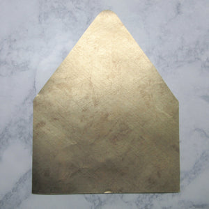 Brushed Gold Envelopes Liners
