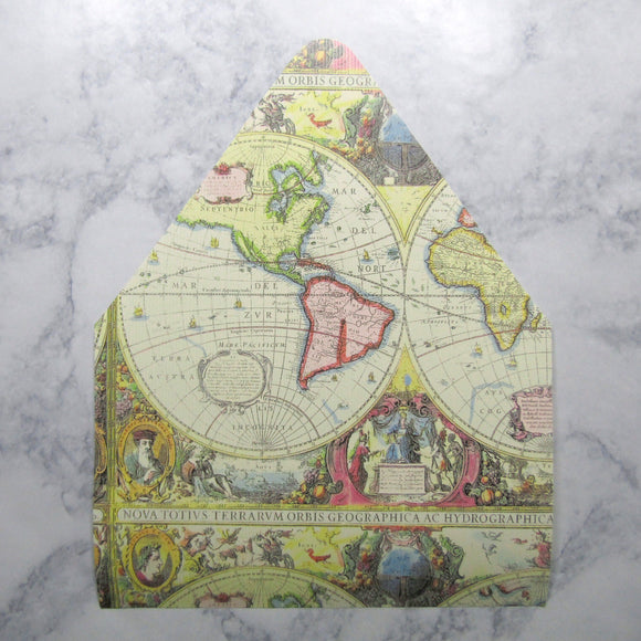 Antique Map Envelopes Liners
