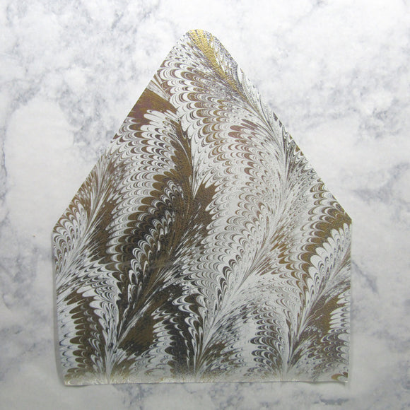 Metallic Marble Envelopes Liners