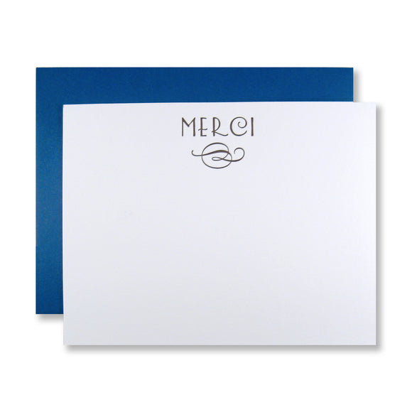 Merci+Flourish Stationery