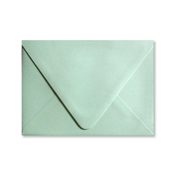 Mint Green Envelopes