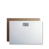 Mitchell Personalized Stationery (S)