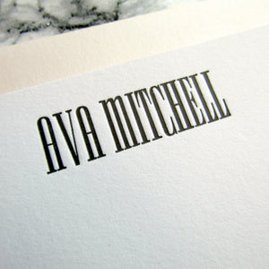 Mitchell Personalized Stationery (L)