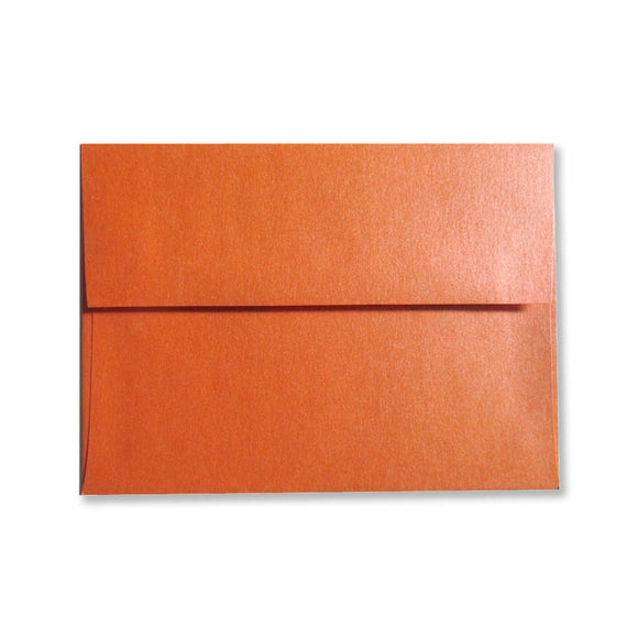 Orange Envelopes {Pearlized}