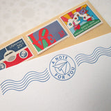 Paper Airplane Post Stationery {Custom}