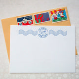 Paper Airplane Post Stationery {Last One!}