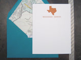 Texas Personalized Stationery
