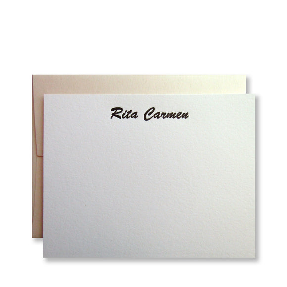 Rita Personalized Stationery (M)